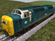 LOCOMOTORA BRITISH RAILWAYS 55 018